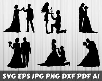 6df85a64744 Couple silhouette