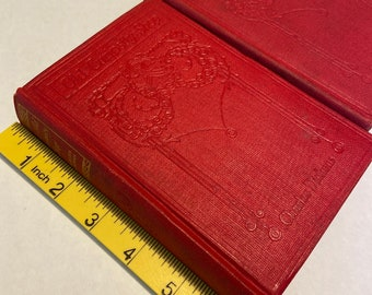 Antique books Charles dickens David Copperfield and the old curiosity shop