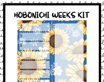 Sunshine Hobonichi Weekly Kit / Full Kit / Hobo Weeks / Fauxbonichi / Planner Stickers / Hobonichi Weeks / Savannah Paper Co
