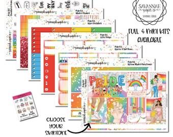 Pride Weekly Kit / Full Kit / Mini Kit / Vertical Kit / Savannah Paper Co