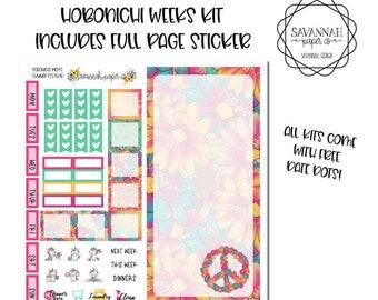 Summer Festival Hobonichi Weekly Kit / Full Kit / Hobo Weeks / Fauxbonichi / Planner Stickers / Hobonichi Weeks / Savannah Paper Co