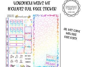 My Happy Place Hobonichi Weekly Kit / Full Kit / Hobo Weeks / Fauxbonichi / Planner Stickers / Hobonichi Weeks / Savannah Paper Co