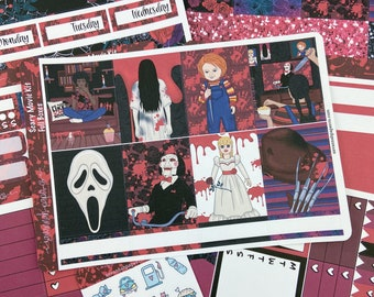 Scary Movie Weekly Kit / Full Kit / Mini Kit / Vertical Kit / Savannah Paper Co