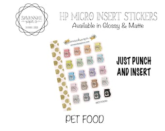 HP Micro Insert Stickers