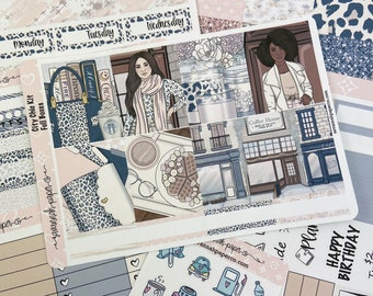 City Chic Weekly Kit / Full Kit / Mini Kit / Vertical Kit / Savannah Paper Co