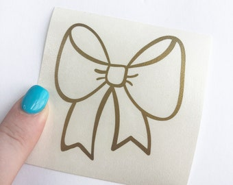 Bow Decal / More Colors / Vinyl Decal / Planner Decal / Planner Bow Decal / Savannah Paper Co