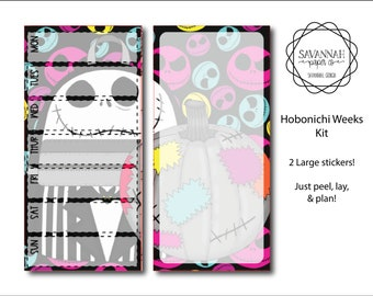 Pumpkin King Hobonichi Weekly Kit / Full Kit / Hobo Weeks / Fauxbonichi / Planner Stickers / Hobonichi Weeks / Savannah Paper Co