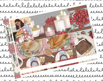 Holiday Dinner Weekly Kit / Full Kit / Mini Kit / Vertical Kit / Savannah Paper Co