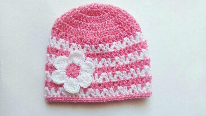 Crochet Baby Hat PATTERN  crochet baby hat  crochet baby image 0