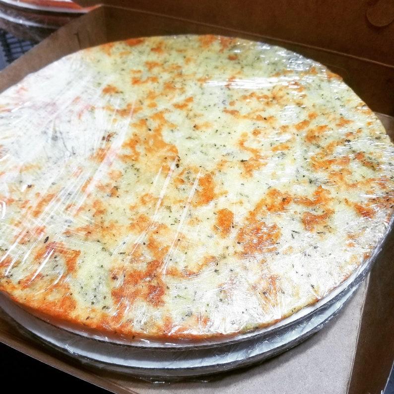 Keto Pizza Crust 3 to a Box image 0