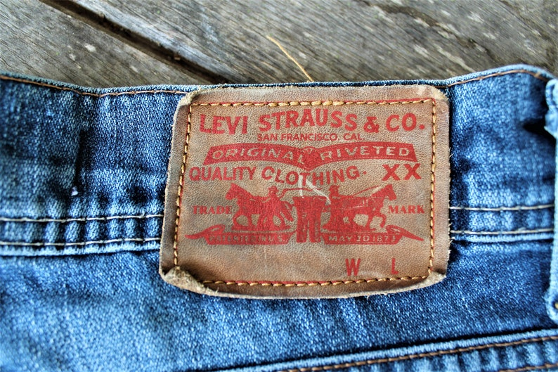 Vintage Lewi Straus 511 jeans slim blue pants