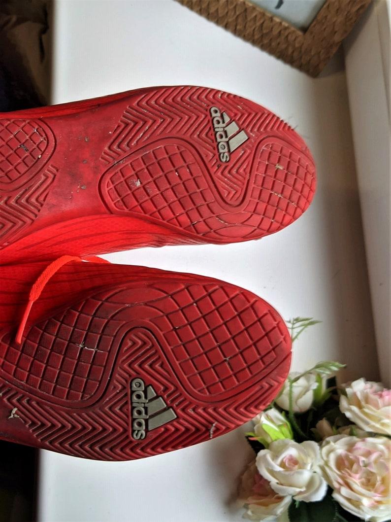 Sneakers Red Adidas donne vintage Taglia 5 Regno Unito/ 38 EU/ ttyUQw5o