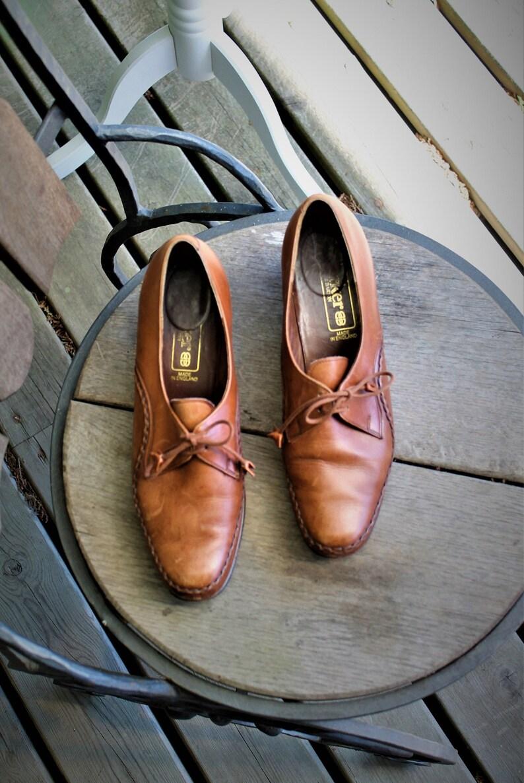 e400dbbde21a3 Shoes brown leather women vintage Rieker low heels size EU 37, US 6 1/2, UK  4