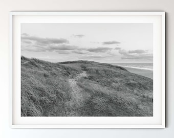Photography dune landscape (Denmark) in black and white, 50 x75 cm, 60 x 90 cm, 70 x 105 cm, large poster