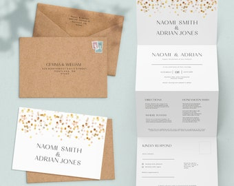 for A5 geetings cards 10 C5 Rose Gold Matte Envelopes luxury 110gsm matte