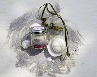 Natural cosmetics *Coconut & Lime Effervescent Bath*
