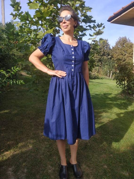 Vintage dirndl dress. Original Austrian Trachten s