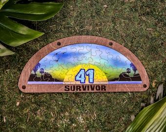 Survivor Puzzle Replica - 41 Sunrise Puzzle