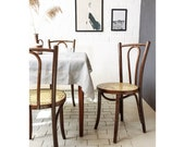 Vintage Bentwood Chair in Thonet Style (No. 56) Bentwood Coffee House Chair Chair Old Design Classic Solid Wood Chair Replica Replica