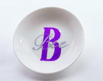 Personalised Initial Ring Dish