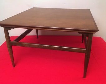 561dac6801f5f Mid Century Modern Corner Occasional   Coffee Table SEE VIDEO