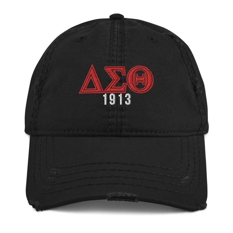Delta 1913 Distressed Dad Hat
