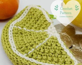 Lime Coin Purse Crochet Pattern