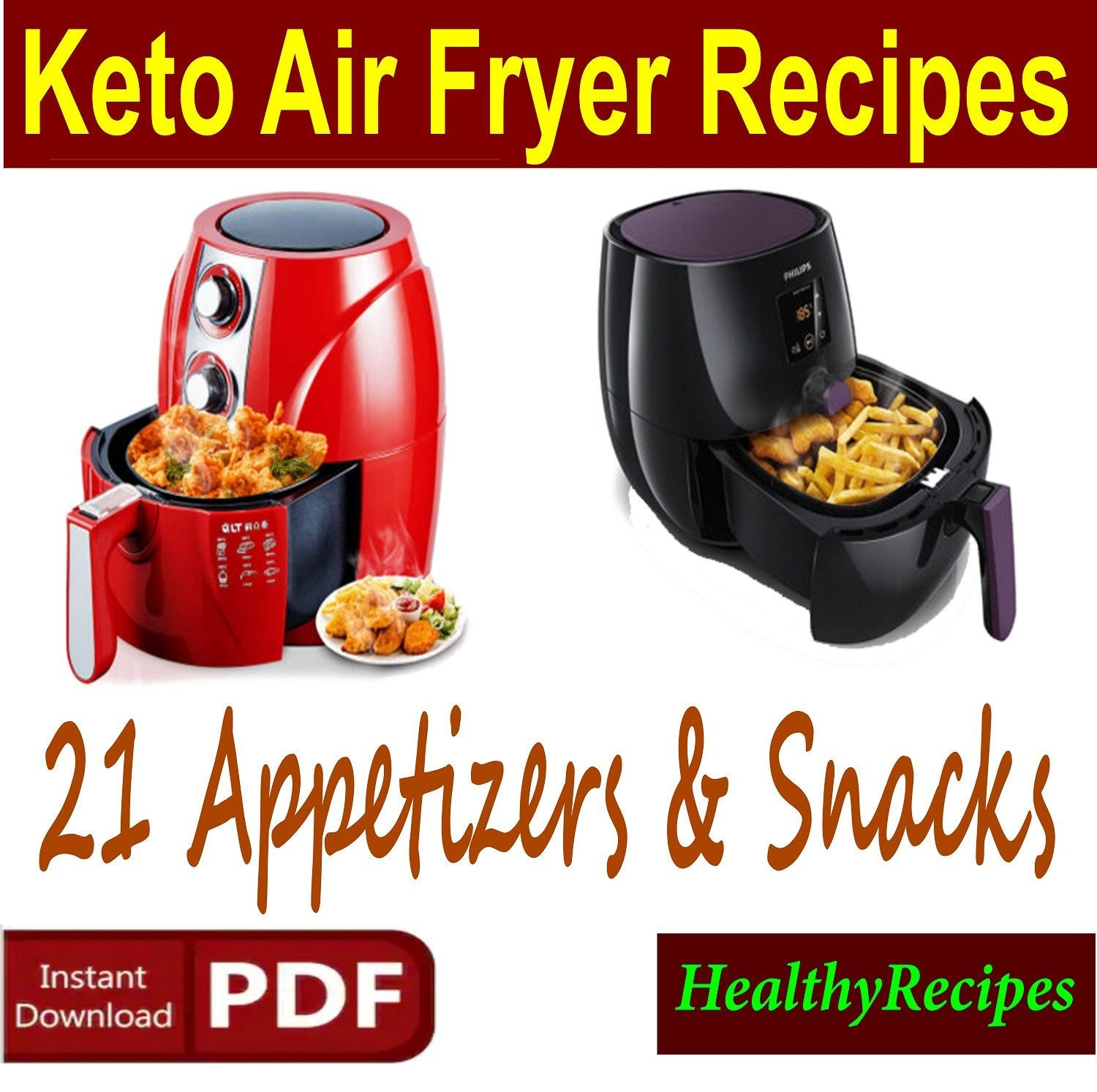 Keto Air Fryer Recipes 21 Keto Snacks Recipes Keto Etsy