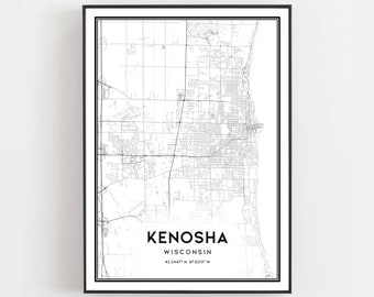 Kenosha map | Etsy on eagle river wi map, sheldon wi map, green wi map, naperville wi map, crystal lake wi map, outagamie wi map, fond du lac county wi map, fairfield wi map, kenosha wisconsin, kenosha hotels, howards grove wi map, dayton wi map, vilas wi map, copper harbor wi map, plover wi map, pensaukee wi map, trenton wi map, wauwatosa wi map, menominee county wi map, battle creek wi map,