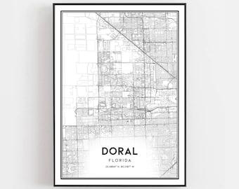 Doral map | Etsy on