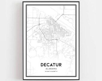 Decatur alabama | Etsy
