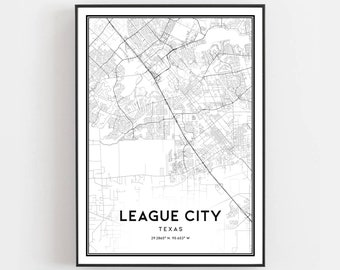 League city map | Etsy on van alstyne map, ferris state university campus map, north cleveland map, n dallas map, spring map, memorial map, mercedes map, lumberton map, orange map, south houston map, university of texas at austin map, needville map, southside place map, raymondville map, west u map, lajitas map, diboll map, galveston college map, cedar bayou map, harris county map,