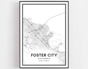 Foster city ca | Etsy