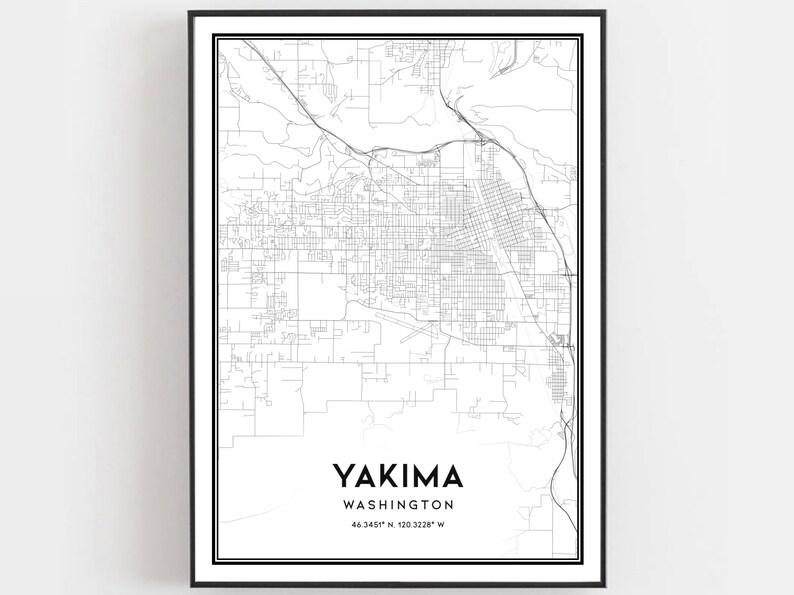 Yakima Map Print, Yakima Map Poster Wall Art, Wa City Map, Washington on yakima county map detailed, yakima city art, yakima fairgrounds map, yakima wine country map, yakima hotels, hermiston or street map, yakima fire department, little naches orv map, city of yakima zoning map, sunnyside wa street map, ellensburg street map, yakima valley map, yakima tribe map, yakima airport, yakima oregon map, yakima city hall, yakima road map, yakima county on map, yakima firing range map, yakima restaurant map,