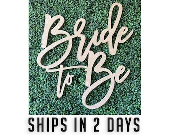 Bride to be wood sign, Wedding Backdrop, Wedding Bar Sign, Bridal Shower, bride to be backdrop, wedding decor, bridal shower decor, 48 hour