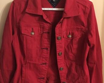 aa5619a3 Tommy hilfiger denim jacket | Etsy