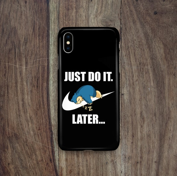 SNORLAX IN SPACE iphone case