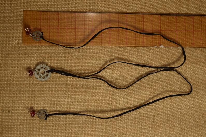Mechanical Lanterns Adjustable Length Necklace