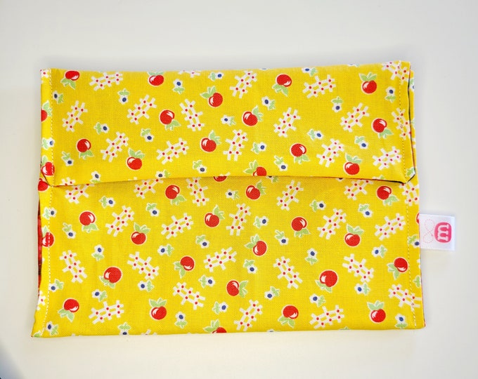 Practical snack bag - Sandwich bag - Snack Bag - Washable, reusable, eco-friendly