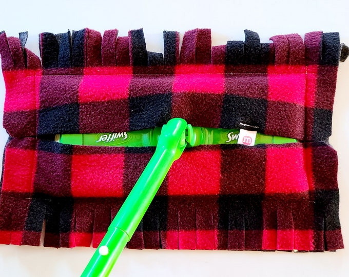 Washable refill for wipe broom catches dust - Zero waste - Reusable - Washable
