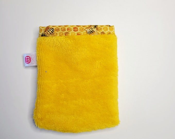 Small make-up remover glove - Make-up remover mitt