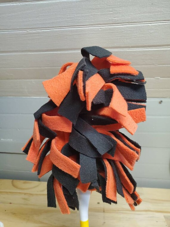 Black washable feather - coral - reusable - ecological - zero waste
