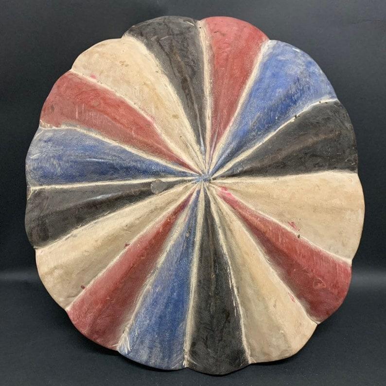 African Art Tribal Art Zulu Shield from South Africa
