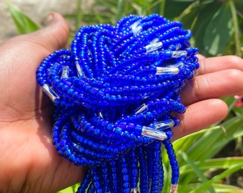 Pastel Blue  AW 21 Shine Waist Bead