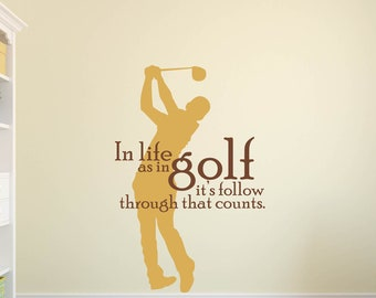 Golf quotes | Etsy