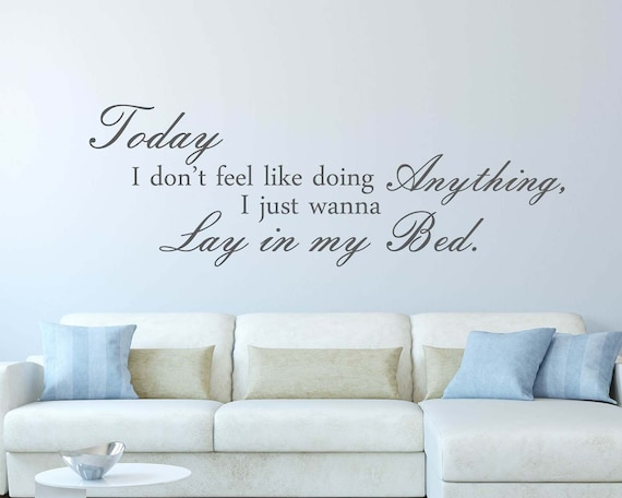 Pleasing Today Quotes Wall Decals Today Quote Wall Sticker Today Wall Quote Kids Wall Decor For Bedroom Living Room Pdpeps Interior Chair Design Pdpepsorg