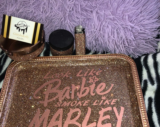 Barbie rolling tray