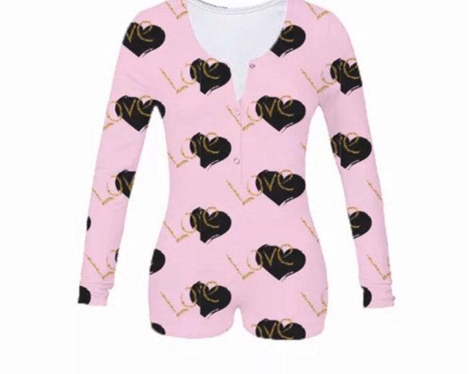 Valentines onesie/Romper