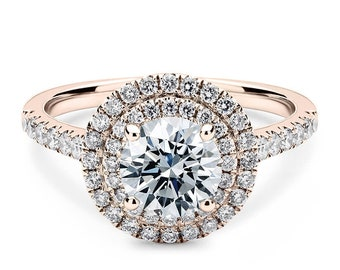 1.90 Ct Jewelry & Watches Real Diamond Cushion Cut Engagement Rings 14k Solid White Gold Size N M Easy To Lubricate