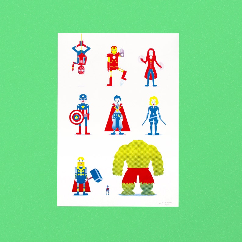 SUPERHEROES poster image 0